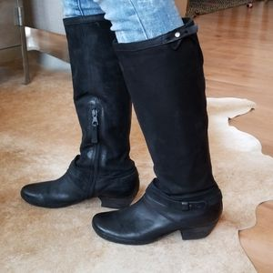 ||MIZ MOOZ VERONA|| Black leather boots, sz 38